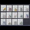 Sehenswürdigkeiten Euro-Werte kpl. 14 Eckrandstücke oben links postfrisch **