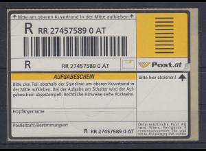 Österreich 2003 Einschreibemarke Mi.-Nr. 3 **