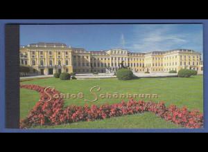 UNO Wien Markenheftchen 1998 MH 3 ** UNESCO-Welterbe Schloss Schönbrunn