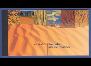 UNO Wien Markenheftchen 1999 MH 4 ** UNESCO-Welterbe Australien