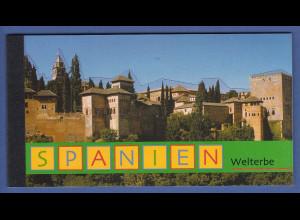 UNO Wien Markenheftchen 2000 MH 5 ** UNESCO-Welterbe Spanien