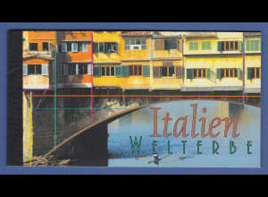 UNO Wien Markenheftchen 2002 MH 7 ** UNESCO-Welterbe Italien