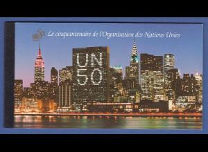UNO Genf Markenheftchen 1995 MH 1 ** 50 Jahre Vereinte Nationen