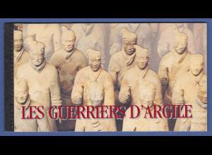 UNO Genf Markenheftchen 1997 MH 2 ** UNESCO-Welterbe China Terrakotta-Krieger