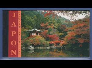 UNO Genf Markenheftchen 2001 MH 6 ** UNESCO-Welterbe Japan