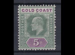 Ghana / Goldküste / Gold Coast Mi.-Nr. 42 sauber ungebraucht