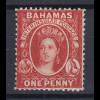 Bahamas 1863 Königin Viktoria Mi.-Nr. 5 Cb sauber ungebraucht *