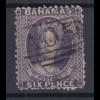 Bahamas 1863 Königin Viktoria Mi.-Nr. 7 A sauber gestempelt