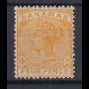 Bahamas 1884 Queen Victoria Mi.-Nr. 15 sauber ungebraucht *