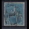 Barbados 1852 sitzende Britannia Mi.-Nr. 2xa sauber gebraucht