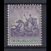 Barbados 1903 kleines Kolonialsiegel Mi.-Nr. 52 sauber ungebraucht