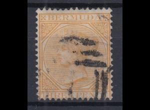 Bermuda 1873 Queen Victoria Mi.-Nr. 3Aa sauber gebraucht