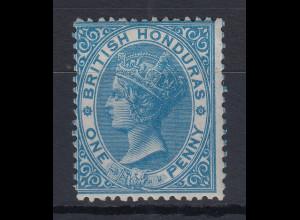 British Honduras (Belize) 1865 Queen Victoria Mi.-Nr. 1 sauber ungebraucht *