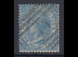 British Honduras (Belize) 1882 Queen Victoria Mi.-Nr. 9 sauber gebraucht