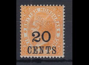 British Honduras (Belize) 1888 Queen Victoria Mi.-Nr. 24 sauber ungebraucht
