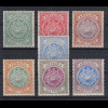 Antigua 1908 Siegel Edward VII. Mi.-Nr. 26-32 Teilsatz sauber ungebraucht *