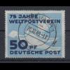 DDR 1949 75 Jahre UPU 50Pfg. Mi.-Nr. 242 sauber zentrisch O WEIMAR
