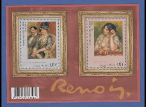Frankreich 2009 Blockausgabe 90. Todestag Pierre-Auguste Renoir # Bl.119 **
