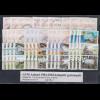 Aaland ATM 1984-2004 Mi.-Nr. 1-15 Komplettsammlung je ein Satz 3-4 Werte gest.