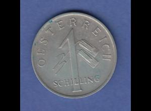 Österreich 1 Schilling Kursmünze 1934 vorzüglich !