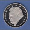 Bundesrepublik 2DM-Kursmünze Strauss 2001A in Prägequalität Spiegelglanz PP