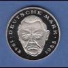 Bundesrepublik 2DM-Kursmünze Erhard 2001A in Prägequalität Spiegelglanz PP