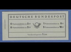Bundesrepublik Heuss Markenheftchen Mi.-Nr. MH 3 postfrisch **