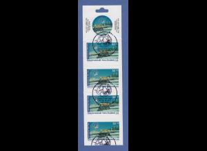 Neuseeland Universal Mail Heftchen(teil?) mit 5 selbstklebenden Briefmarken ET-O