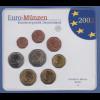 Bundesrepublik EURO-Kursmünzensatz 2002 A Normalausführung stempelglanz