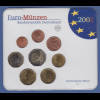 Bundesrepublik EURO-Kursmünzensatz 2002 J Normalausführung stempelglanz