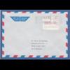 Finnland FRAMA-ATM Mi.-Nr. 1.2 Wert 230 aus OA Helsinki auf Brief nach D, 1.1.88
