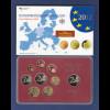 Bundesrepublik EURO-Kursmünzensatz 2012 J Spiegelglanz-Ausführung PP