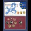Bundesrepublik EURO-Kursmünzensatz 2013 D Spiegelglanz-Ausführung PP
