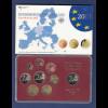 Bundesrepublik EURO-Kursmünzensatz 2013 F Spiegelglanz-Ausführung PP