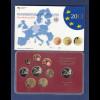 Bundesrepublik EURO-Kursmünzensatz 2013 J Spiegelglanz-Ausführung PP
