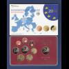 Bundesrepublik EURO-Kursmünzensatz 2014 A Spiegelglanz-Ausführung PP