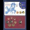 Bundesrepublik EURO-Kursmünzensatz 2014 D Spiegelglanz-Ausführung PP