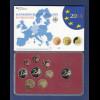 Bundesrepublik EURO-Kursmünzensatz 2014 G Spiegelglanz-Ausführung PP