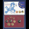 Bundesrepublik EURO-Kursmünzensatz 2014 J Spiegelglanz-Ausführung PP