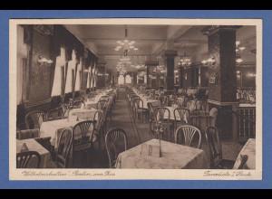 AK Berlin Wilhelmshallen am Zoo Cafe und Tanzdiele Innenansicht gelaufen 1931