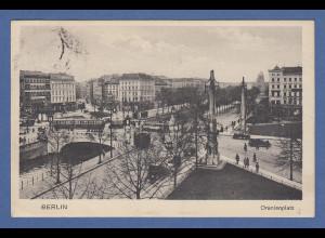 AK Berlin Oranienplatz gelaufen 1928