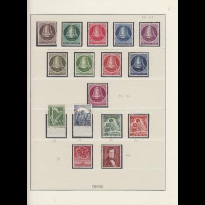 Berlin 1950-1971 kpl. Sammlung ** einwandfrei im LINDNER-Album