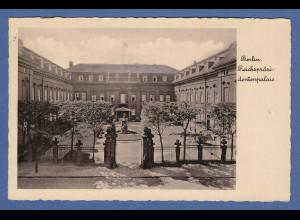 AK Berlin Reichspräsidentenpalais gelaufen mit Bahnpoststempel