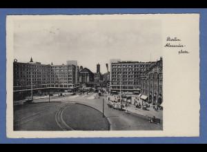 AK Berlin Alexanderplatz gelaufen 1933