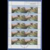 Bundesrepublik 2001 Wuppertal Schwebebahn Kleinbogen Typ I mit ET-O