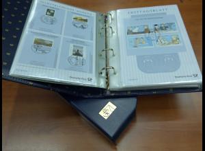 Bundesrepublik Ersttagsblatt ETB-Jahrgang 2011 kpl. im Luxus-Album der Dt. Post