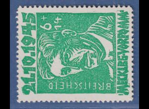 SBZ Mecklenburg-Vorpommern Faschismus-Opfer Rudolf Breitscheid Mi.-Nr. 20a **
