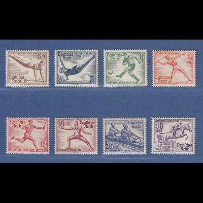 Deutsches Reich 1936 Olymische Spiele 1936 Blockmarken Mi.-Nr. 624-631 **