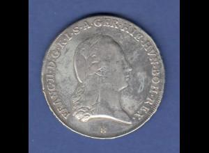 RDR Österreich Habsburg Franz II. Kronentaler 1797 H, gute Erhaltung !