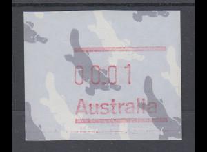 Australien Frama-ATM 3. Ausgabe 1986, Schnabeltier, Ausgabe ohne Postcode **